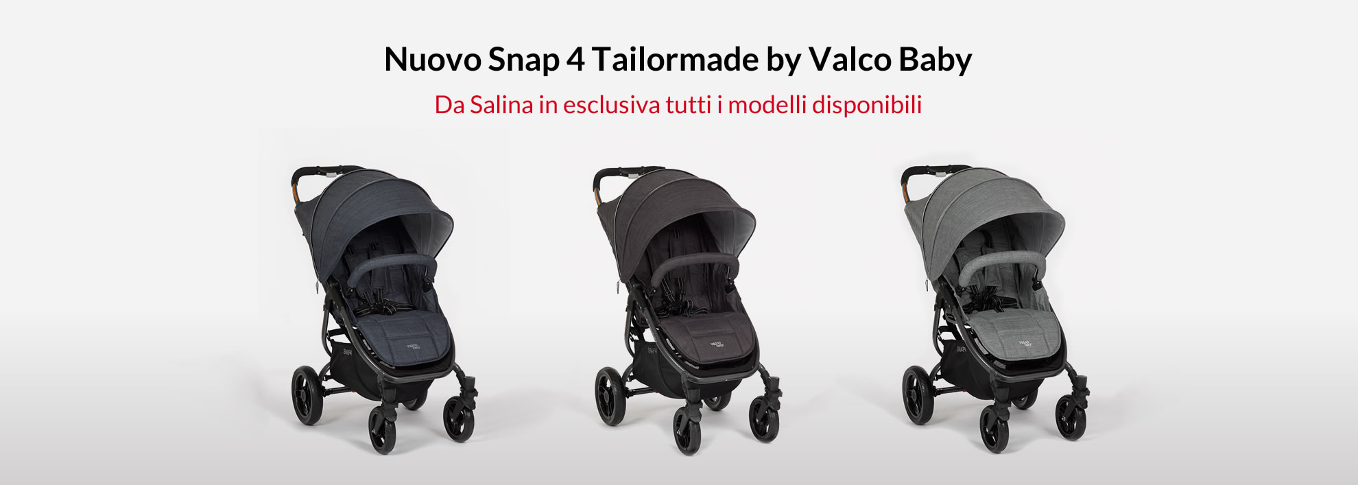 Snap 4 Tailormade by Valco Baby